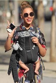 Beyonce With New Baby