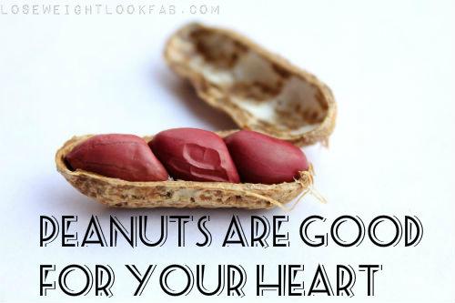 peanuts promote heart health