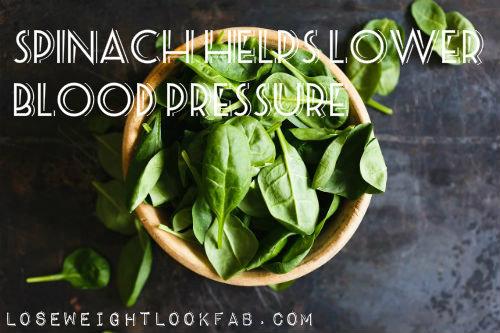 Spinach Lower Blood Pressure